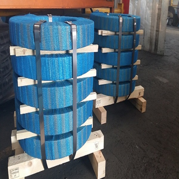 Steel Strip Coils Warehoused And Ready To Dispatch